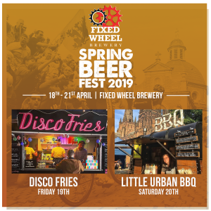 Fixed Wheel festival food line up
